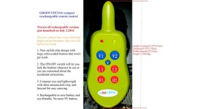 Groovy Pets Rechargeable Collar