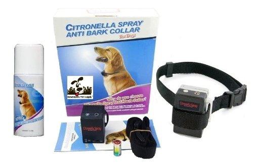 NO BARK Collar Citronella Spray Anti-Bark Collar