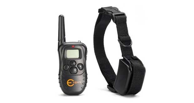 Esky Rechargable LCD Remote Control Dog Training Shock Collar