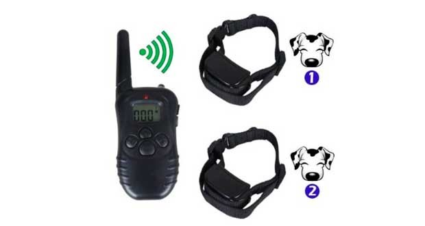 Petainer Rechargeable Waterproof 300m Remote Control Pet Dog Training Collar